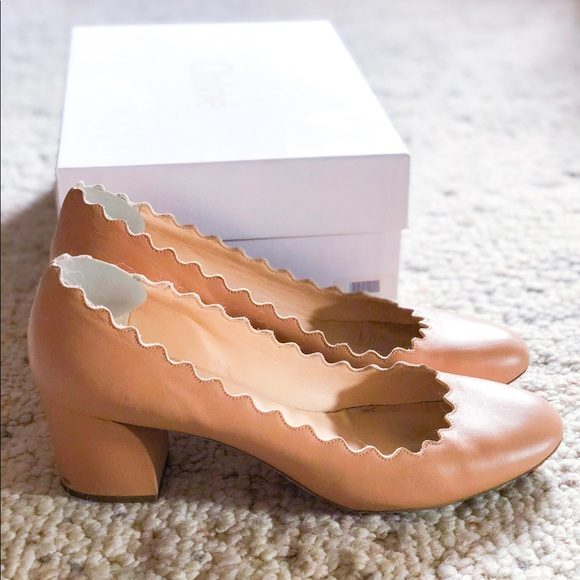 223ddd1fa4aa Chloe Shoes - Authentic Chloé Scalloped pumps (WITH BOX)